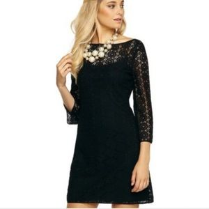 ✨ Lilly Politzer Black Topanga Eyelet Dress ✨